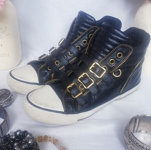 Ash high top sneakers with buckles